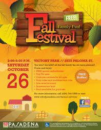 Fall Festival Flier Family Fun Fall Festival Human Services Recreation