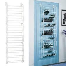 over the door shoe rack for 36 pair