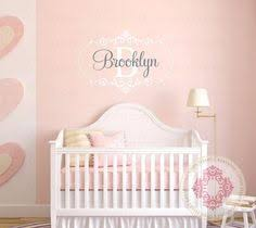 baby name wall art stickers