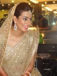 chandni singh bridal makeup info review