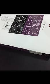 Interior Design Illustrated Third Edition Interior Design Illustrated By Francis D K Ching Books