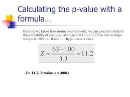 equation for p value jennarocca