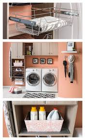 Design your laundry room to match your space and your needs. The totally  customizable NeuSpace organization system helps to make washing, drying and  ironing ...