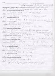 word equations chemical equations worksheet best word equations chemistry worksheet zinc and lead new predicting