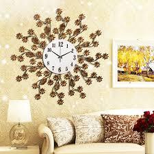 image of cool large decorative wall clocks