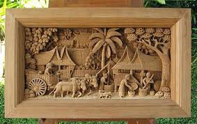 wood carved wall art teak wood hand carved wood sculpture teak wood carved art in bass wood carved wall art