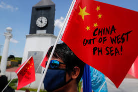 Anti China Protests In The Philippines Mark Third Anniversary Of