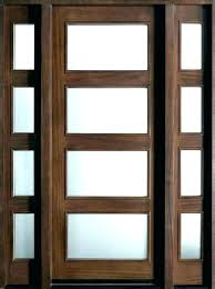 modern glass exterior doors dark wood front door matte beautiful frosted entry modern glass exterior doors