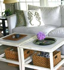 coffee table with baskets underneath inspiring designs of coffee table with baskets coffee table with baskets