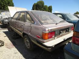 Junkyard Find: 1984 Toyota Camry LE Liftback - The Truth About Cars