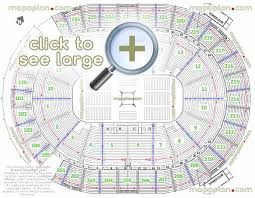 New T Mobile Arena Mgm Aeg Seat Row Numbers Detailed