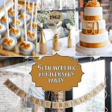 Wedding Anniversary Party Ideas Best 50th Anniversary Party Ideas For Your Grandparents