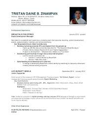 Sample Of Resume For Working Student Mcdonalds Resume Sample Thrifdecorblog Com