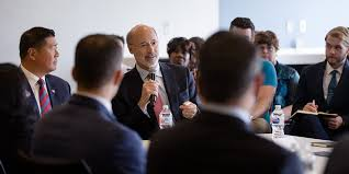 governor wolf hosts roundtable discussion on jobs that pay tour at university city science center