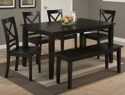 rectangle kitchen table set. Jofran Simplicity Rectangle Dining Table Set With Bench - Item Number: 552-60+ Kitchen
