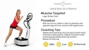 power plate lateral step up to balance power plate lateral step up to balance