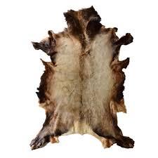 elk skin rug unique single skin rug elk deer hide taxidermy mounts for