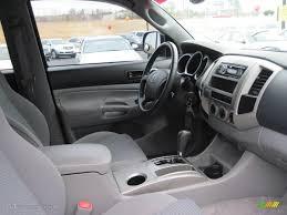 Graphite Gray Interior 2006 Toyota Tacoma V6 TRD Sport Double Cab ...