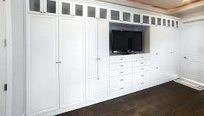 Custom Wall Closets Bedroom Custom Wall Unit Storage System For The Bedroom  Includes A Place For
