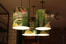 tin can light fixture fixtures