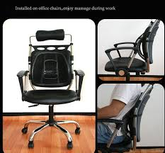 promotion car seat office chair massage back lumbar support mesh ventilate cushion pad support in seat supports from automobiles motorcycles on