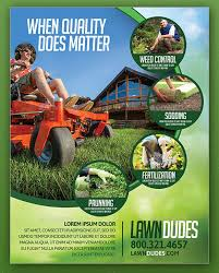 Lawn Mowing Ads 28 Lawn Care Flyers Psd Ai Vector Eps Free Premium