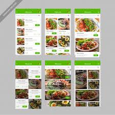 restaurant menu design app menu list restaurant food mobile app user interface design