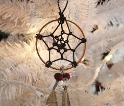 Dream Catcher Christmas Ornament Handmade Holiday Ornament Exchange Dream Catcher LyndaCreates 69