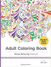 coloring book stress relieving patterns blue star coloring 9781941325124 amazon books