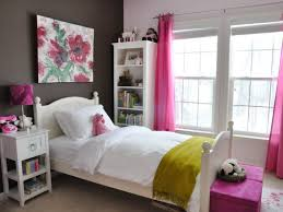 bedroom fun. Bedroom:Excellent Tween Girl Bedroom Ideas For Small Space With Pink Transparent Curtain And White Fun