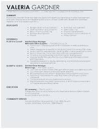 Sample Resume For Retail Manager Amazing Retail Manager Resumes Interesting Assistant Store Manager Resume