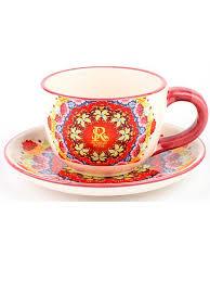 Чайная пара Русский Стиль Платок, 220 мл BAROUGE 7513030 в ...