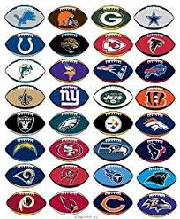 Canada Walmart Licensed Stickers 32 Set Shape Complete Nfl Teams Of Football All dcacceefd|Get More Football With Directv NFL Sunday Ticket