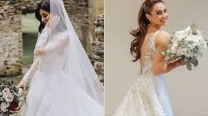 10 gorgeous celebrity wedding gowns 2018 edition