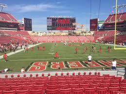 Raymond James Stadium Section 122 Tampa Bay Buccaneers