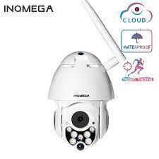 Inqmega 1080P PTZ Camera IP Tự Động Theo Dõi Tốc Độ Dome Wifi Không Dây  Camera Quan Sát Ngoài Trời Giám Sát An Ninh Máy Camera Chống Thấm Nước|Camera  giám sát