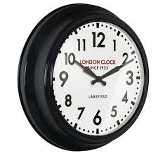 station 56cm controller wall clock