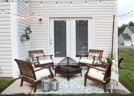 how to decorate a small patio blesserhouse com utilize a small patio space