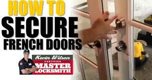 French Door Opening How To Secure Out Swinging French Doors Atlanta Locksmith Kevin
