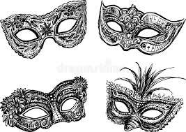 Theater Maskers Kleurplaat Kleurplaat Maskers Afb 19592
