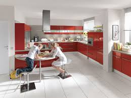 Kitchen Red And White Red And White Kitchen Decorating Ideas Outofhome