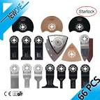 <b>NEWONE 66pcs Starlock</b> blade Oscillating Tool Saw Blades Set fit ...