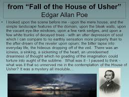 literary device diction ppt video online from fall of the house of usher edgar allan poe
