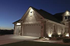 Attractive Outdoor Lighting For Homes House Down Lighting Outdoor Accents  Lighting Garage Door