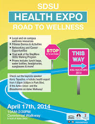 Health Expo State April 2014 Health Expo Sdsu