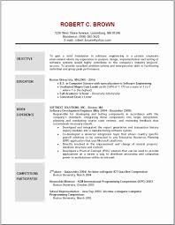 Resume How To Write Your Objective In A W On Job Objectives Resume