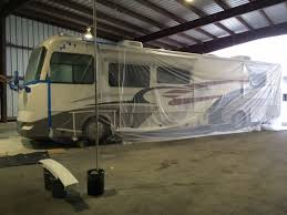 rv taped off for vortex