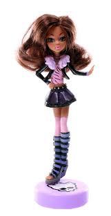 """<b>Кукла</b>-<b>Ручка</b> Monster High """"Клодин Вульф"""", с подставкой, цвет ..."""