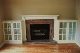popular stone fireplace with built in bookshelves it looks like it might be