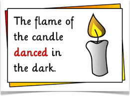 dchs ap english language personification candle png